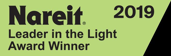 Nareit 2019, Leader in Light Award Winner